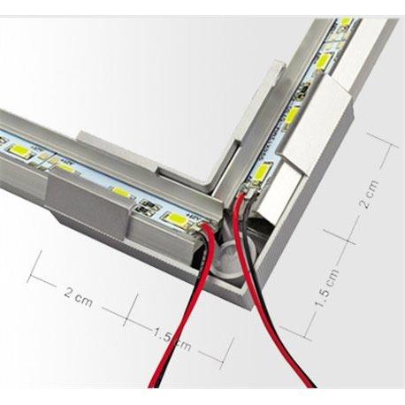 A LED szalag szerelése