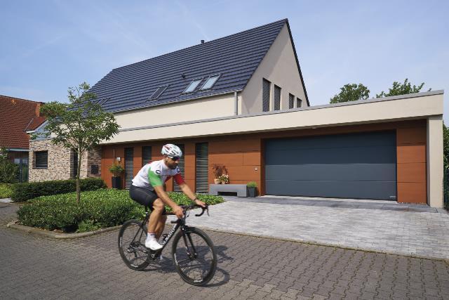 Hörmann LPU67 Thermo energiatakarékos szekcionált garázskapu