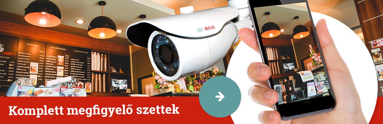 Biztonságban a család Sec-CAM kamerákkal