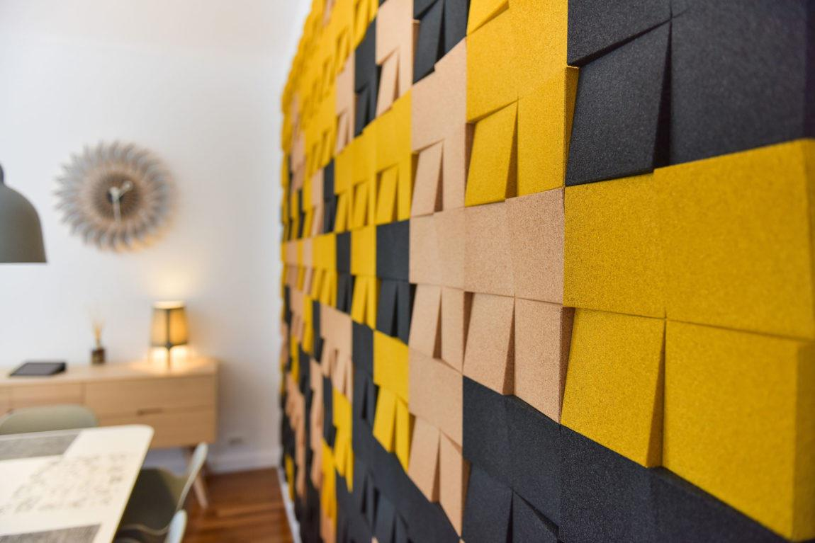 Muratto Cork Wall Design
