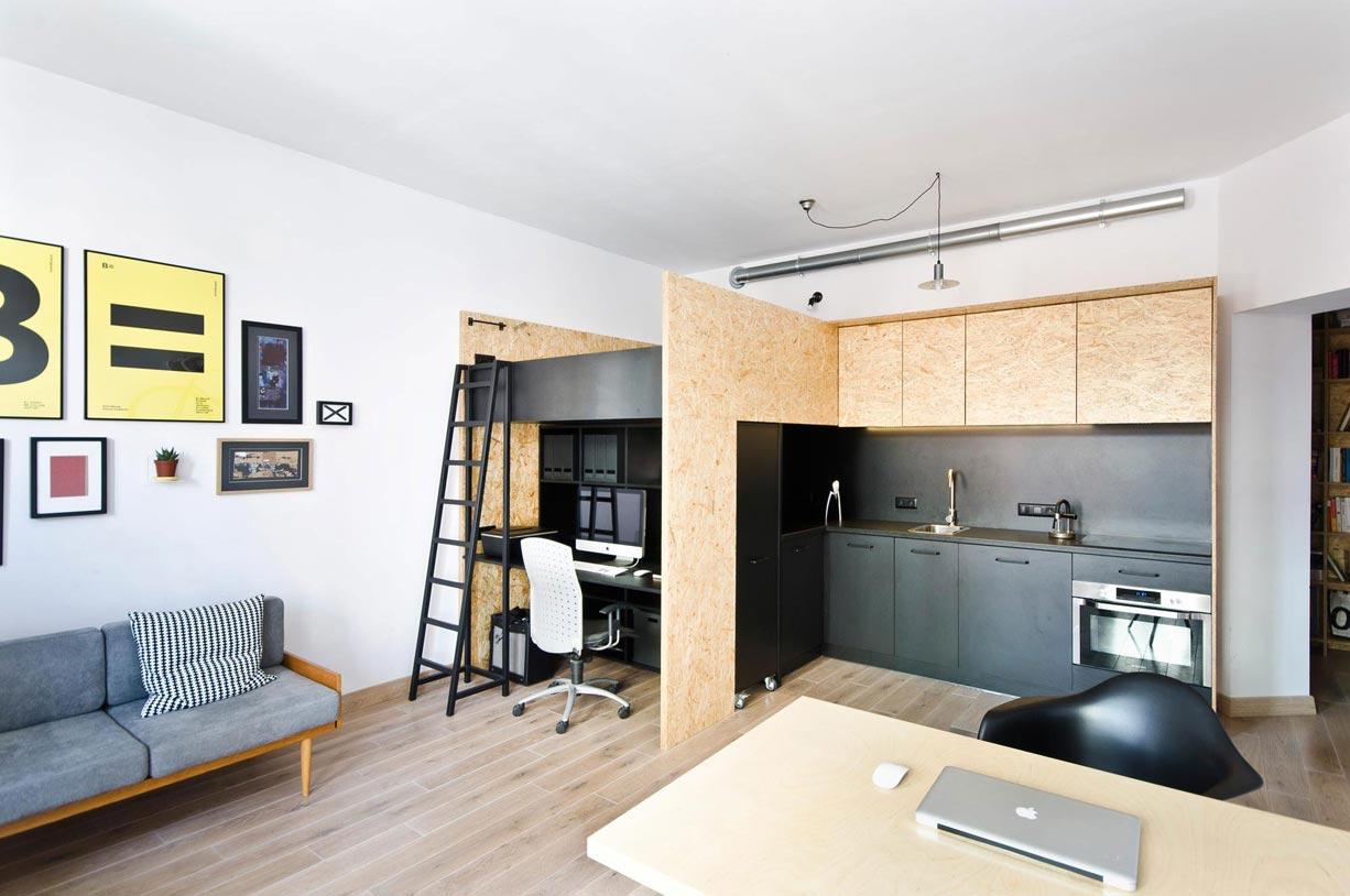 Galéria kis lakásban