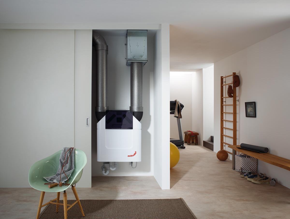Zehnder hővisszanyerő szellőztető rendszer