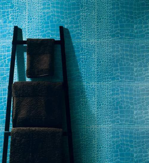 Egzotikus fürdőszoba krokodilbőrbe bújtatva - HOMEINFO