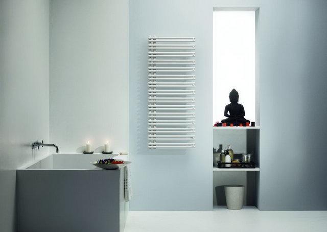 Törölközőszárító fürdőszobai radiátor elektromos fűtőbetéttel - HOMEINFO