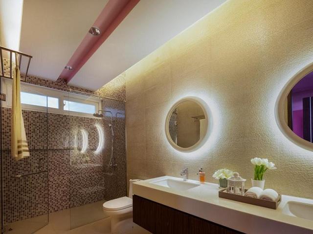 Látványos fürdőszobai álmennyezetek - HOMEINFO