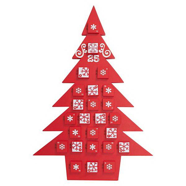 adventi naptár saját kezűleg Különleges adventi naptár fából   HOMEINFO adventi naptár saját kezűleg