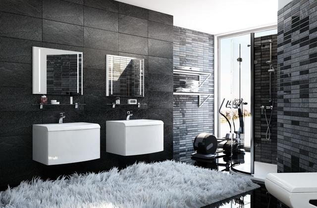 Dupla mosdó a fürdőszobában - HOMEINFO