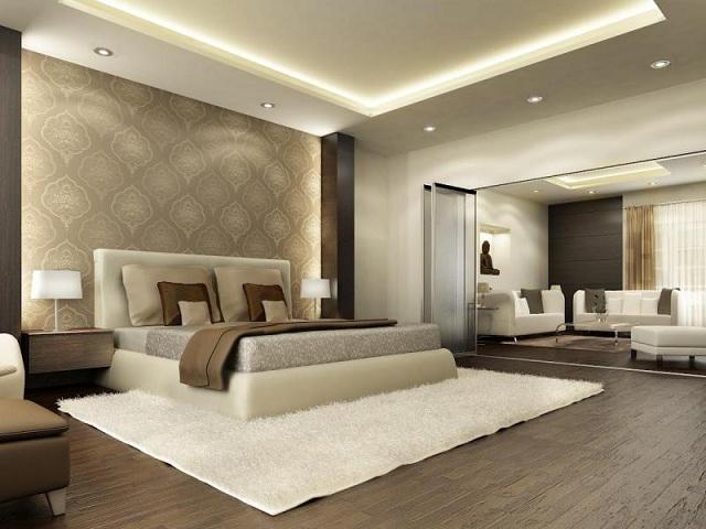 Hálószoba színek barna