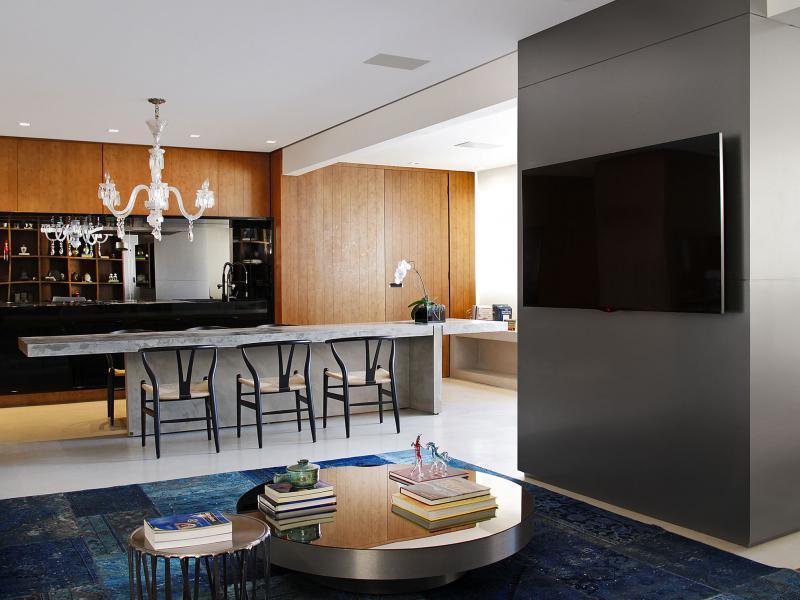 Egyterű konyha nappali