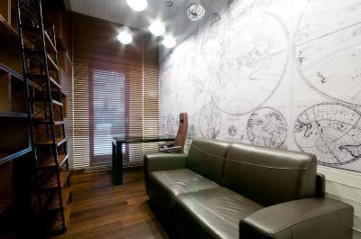 Feltalálók dolgozószobája - dolgozószoba ötlet, klasszikus stílusban