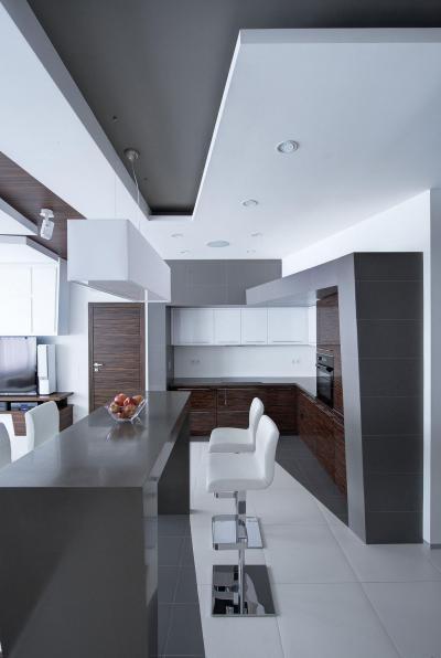 Minimál design - konyha / étkező ötlet, minimál stílusban