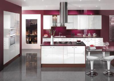 Nőies konyha - konyha / étkező ötlet, modern stílusban