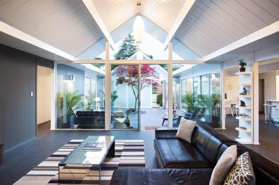 Szellős nappali - nappali ötlet, modern stílusban