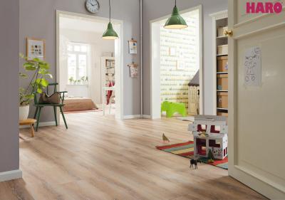 Haro laminált padló - előszoba ötlet
