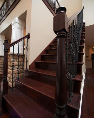 Klasszikus lépcsőfeljáró - belső továbbiak ötlet, klasszikus stílusban