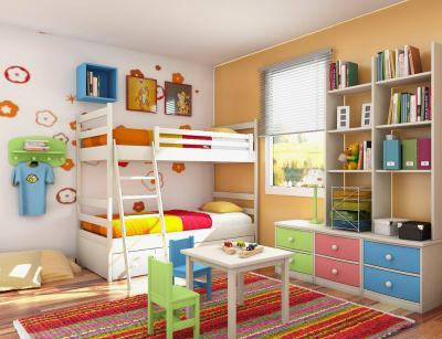 Micimackó szoba - gyerekszoba ötlet, modern stílusban