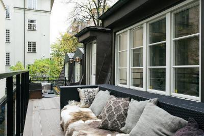 Retro terasz hangulatok - erkély / terasz ötlet, modern stílusban