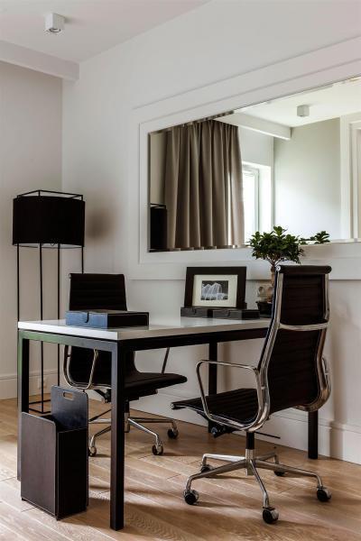 Kis dolgozó - dolgozószoba ötlet, modern stílusban