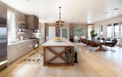 Tágas étkező - konyha / étkező ötlet, modern stílusban