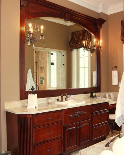 Gyönyörű fürdő - fürdő / WC ötlet, klasszikus stílusban