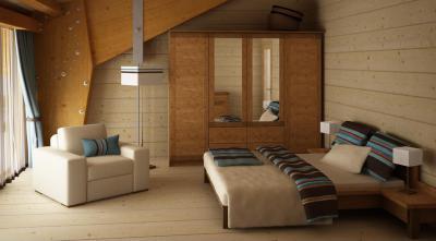 Faház hálószobája - háló ötlet, mediterrán stílusban