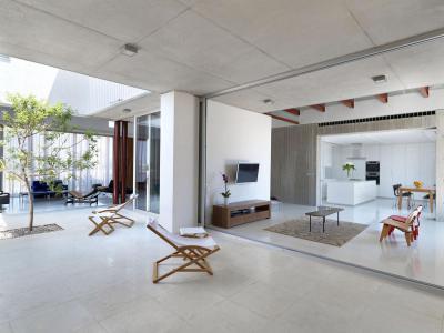Belső kert a lakásban - belső továbbiak ötlet, modern stílusban