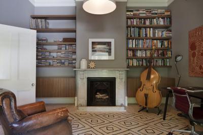 Művészlakás - nappali ötlet