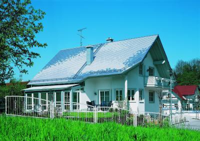 CREATON KLASSIK kerámia tetőcserép NOBLESSE üvegmázas - tető ötlet, modern stílusban