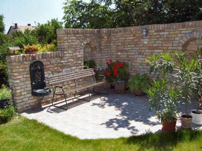 Családi ház kertje - kert / udvar ötlet, rusztikus stílusban