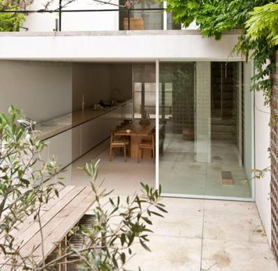Erkély - erkély / terasz ötlet, modern stílusban