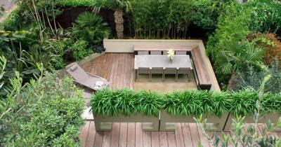 Terasz  - erkély / terasz ötlet, modern stílusban