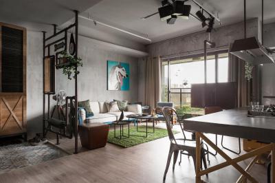 Látványos részletek - nappali ötlet, modern stílusban