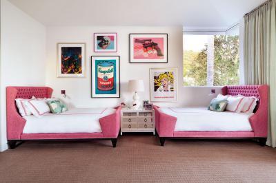 Pop art hálószoba - háló ötlet
