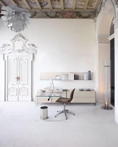 Klasszikus enteriőr dolgozószobában - dolgozószoba ötlet, klasszikus stílusban