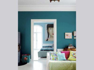 klasszikus nappali élénk színek - nappali ötlet, klasszikus stílusban