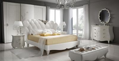 art deco háló fehérbe öltöztetve - háló ötlet