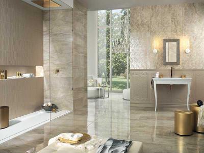 Art deco fürdő modern stílusba csempészve homeinfo