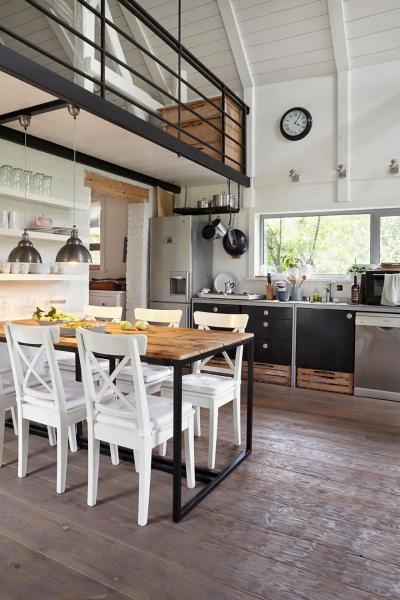 galéria rusztikus enteriőrben - konyha / étkező ötlet, rusztikus stílusban