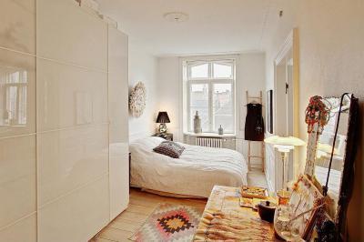 skandináv lakás - háló ötlet, modern stílusban