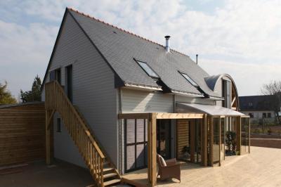 organikus ház - erkély / terasz ötlet