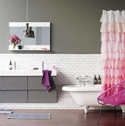 csajos szeglet a  fürdőben - fürdő / WC ötlet, modern stílusban