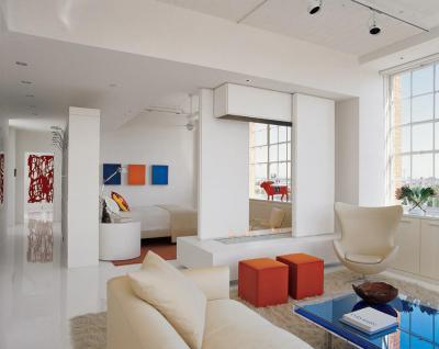 fehér lakás élénk kiegészítői - nappali ötlet 02fe1f067b