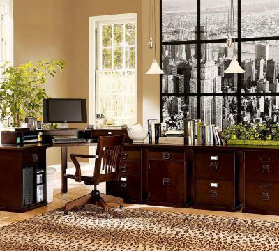 Dolgozószoba stílusosan - dolgozószoba ötlet, klasszikus stílusban