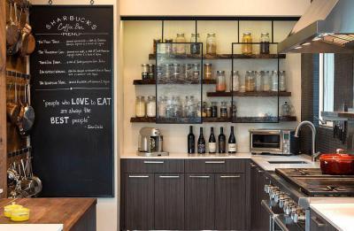 Konyha üzenőfallal - konyha / étkező ötlet, modern stílusban