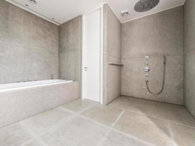 Minimál fürdőszoba - fürdő / WC ötlet, minimál stílusban