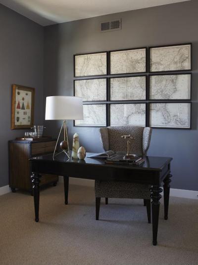 Dolgozószoba - dolgozószoba ötlet, modern stílusban