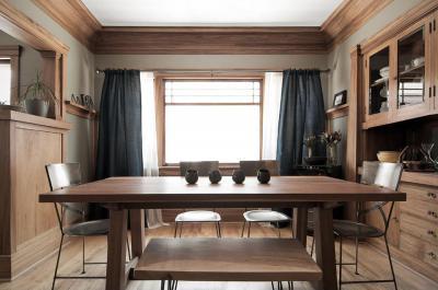 Természetközeli étkező - konyha / étkező ötlet, modern stílusban