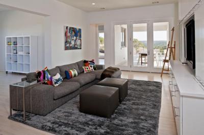 Letisztult, otthonos nappali - nappali ötlet, modern stílusban