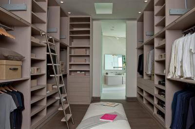 Gardrób helyiség - belső továbbiak ötlet, modern stílusban