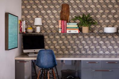 Industrial dolgozószoba - dolgozószoba ötlet, modern stílusban